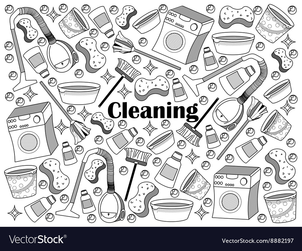 Cleaning colorless set