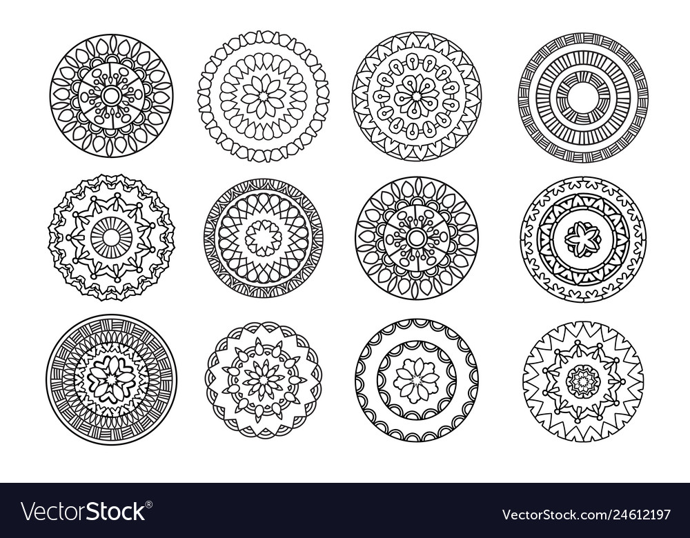 Ethnic decorative elements