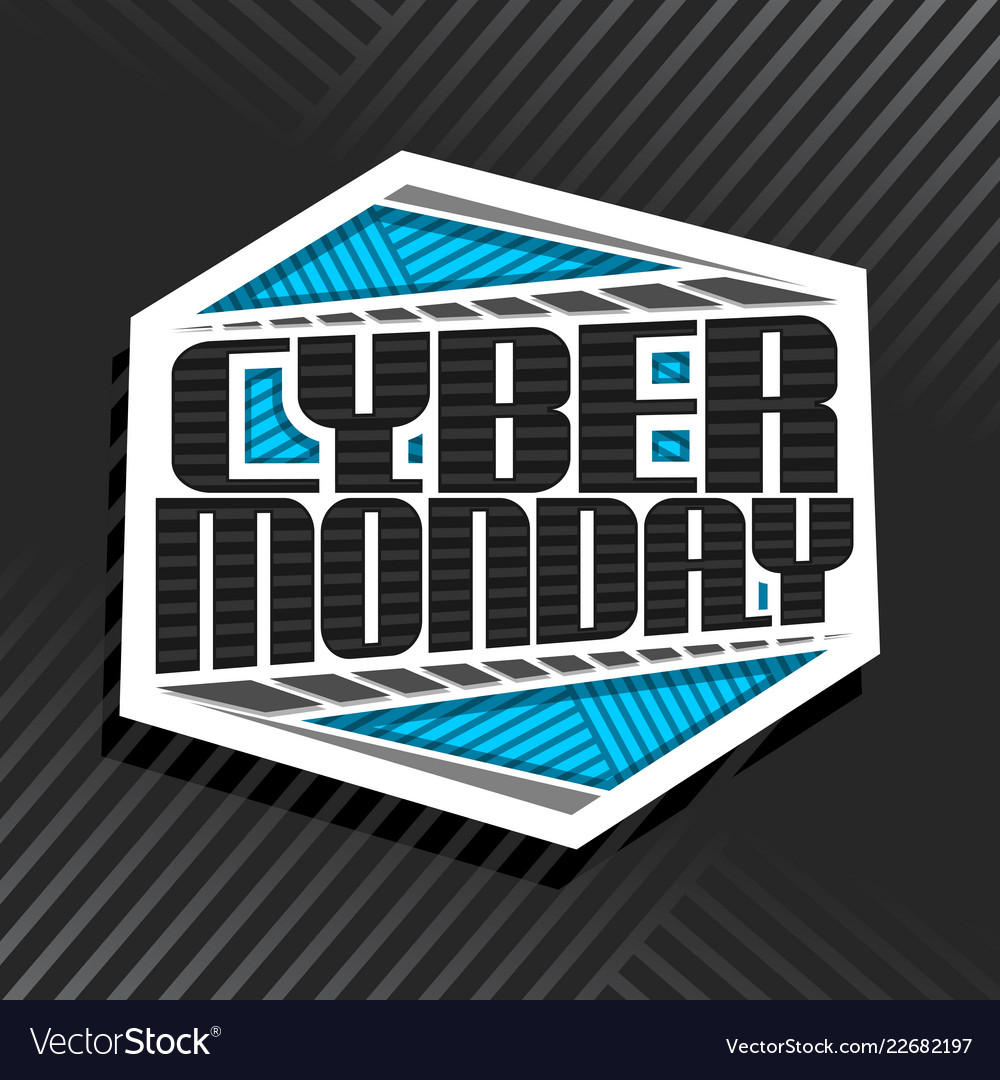 Logo for cyber monday