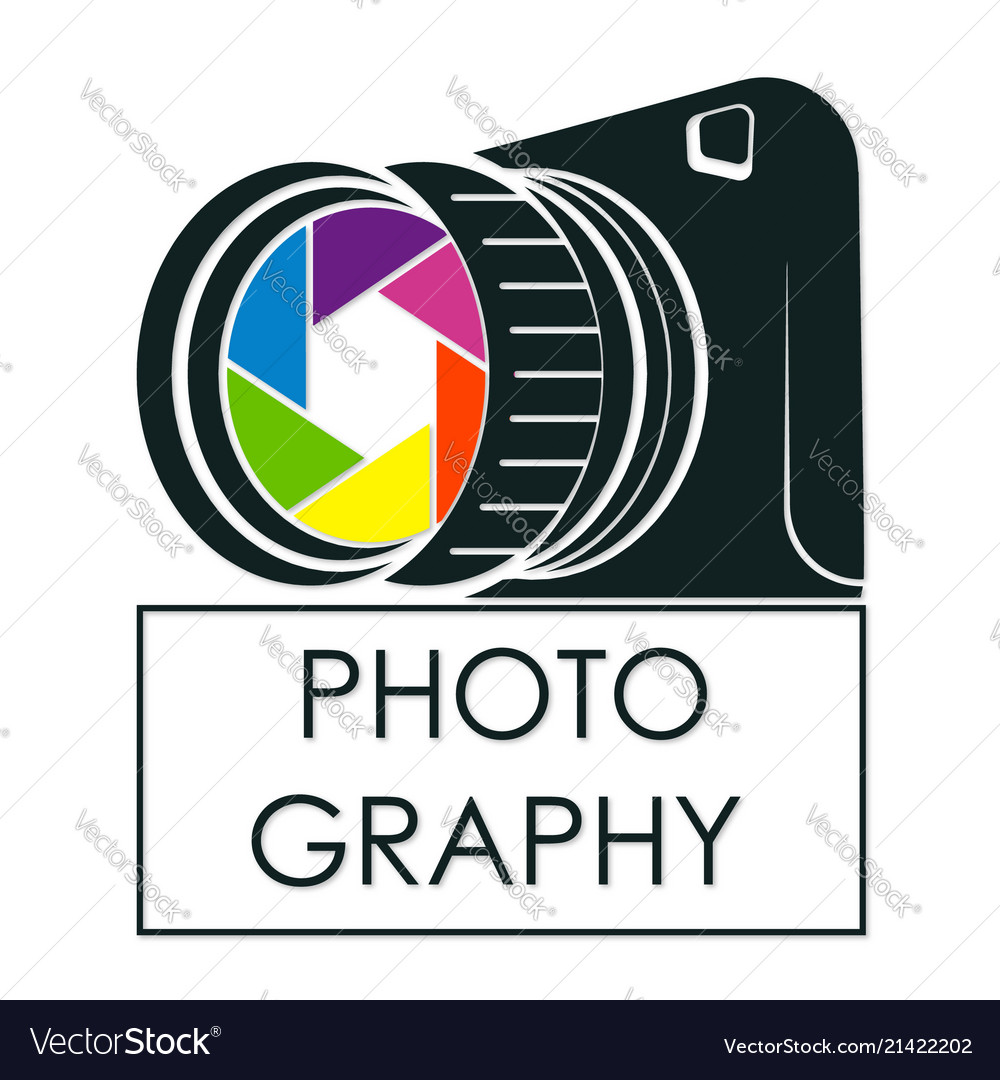 Camera for photographer symbol