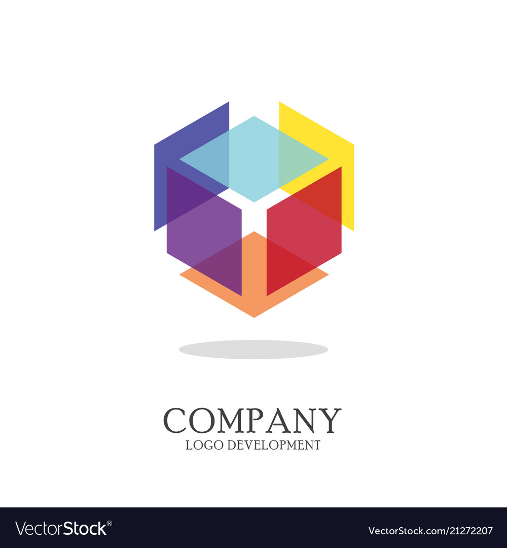 Abstract geometric logo design