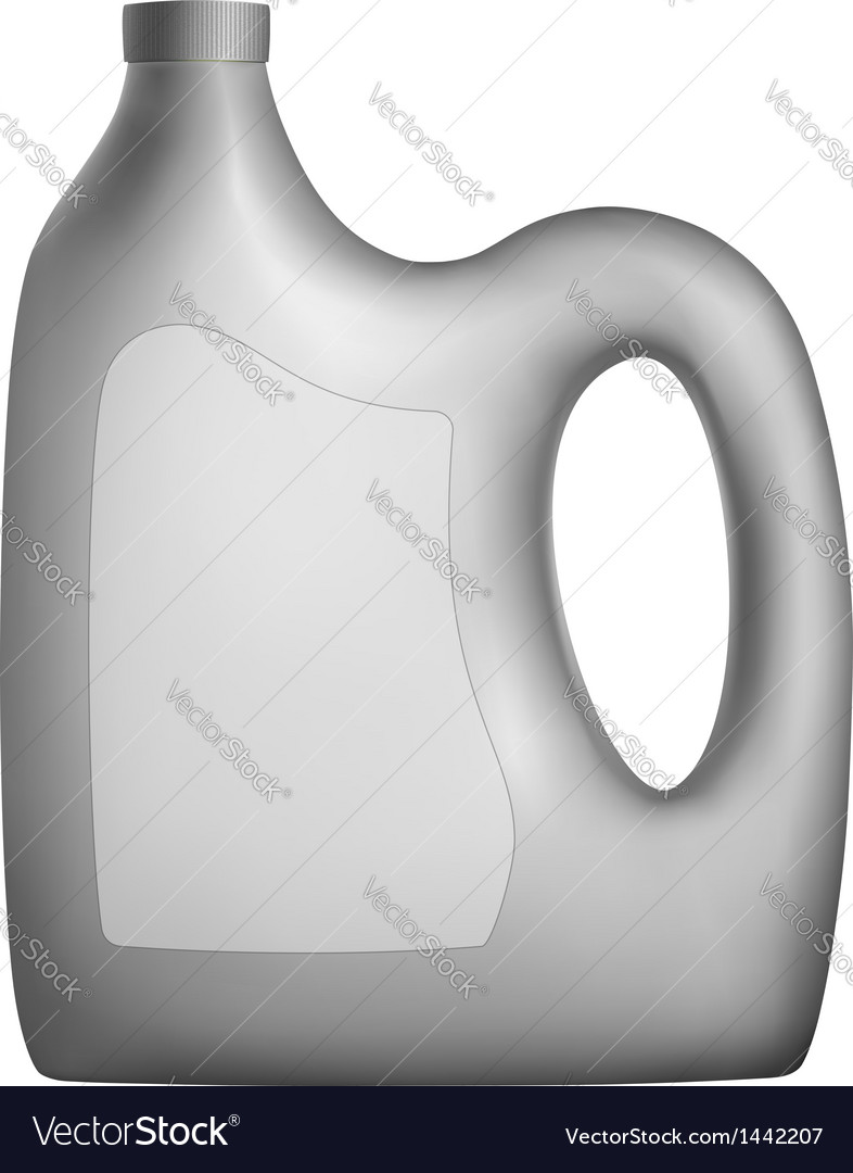 Canister for engine oil or other car fluids vector image