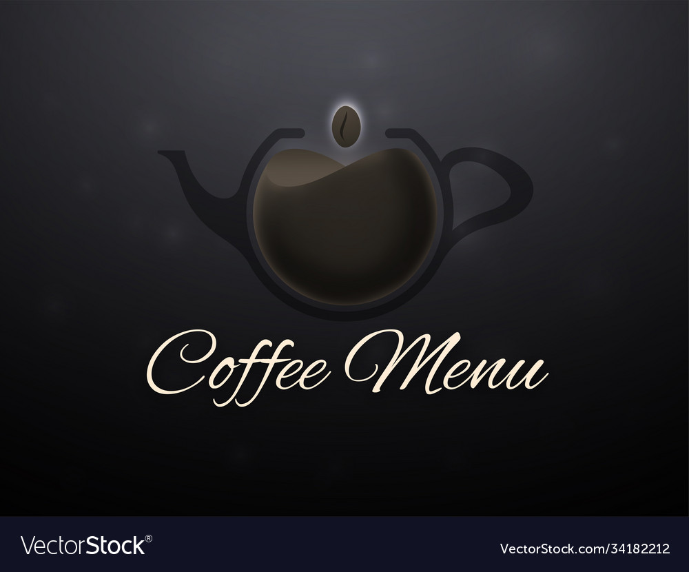 Coffee horizontal banner vector