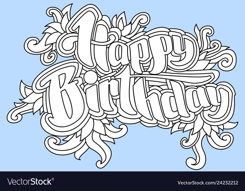 Happy birthday greeting card 1