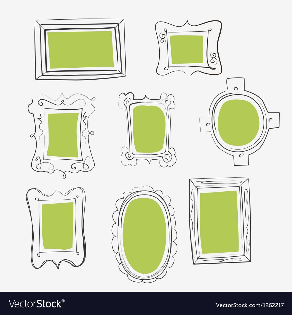 Fun frames Royalty Free Vector Image - VectorStock