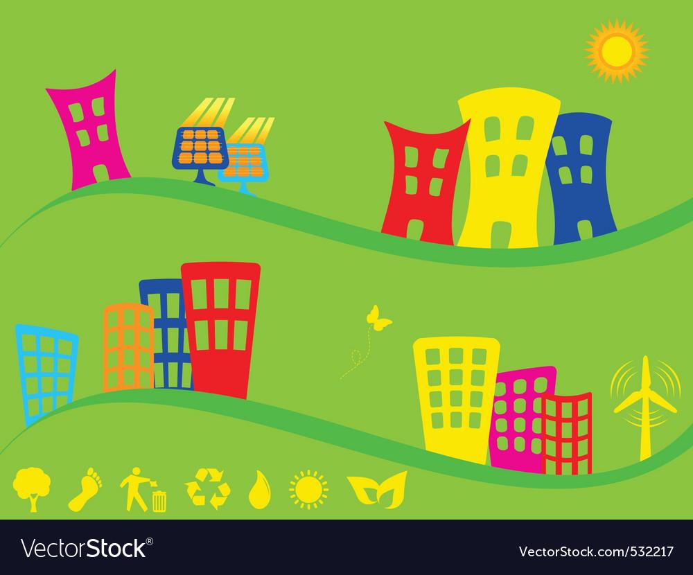 Neighbor vector image