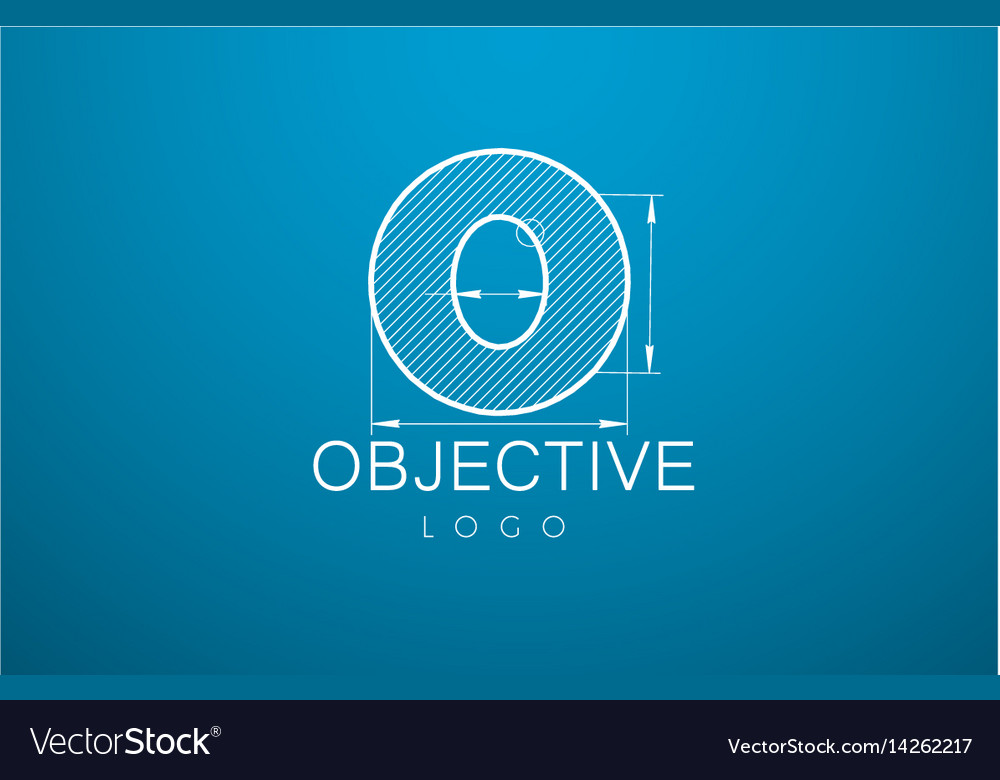 Ogo template letter o in the style of a