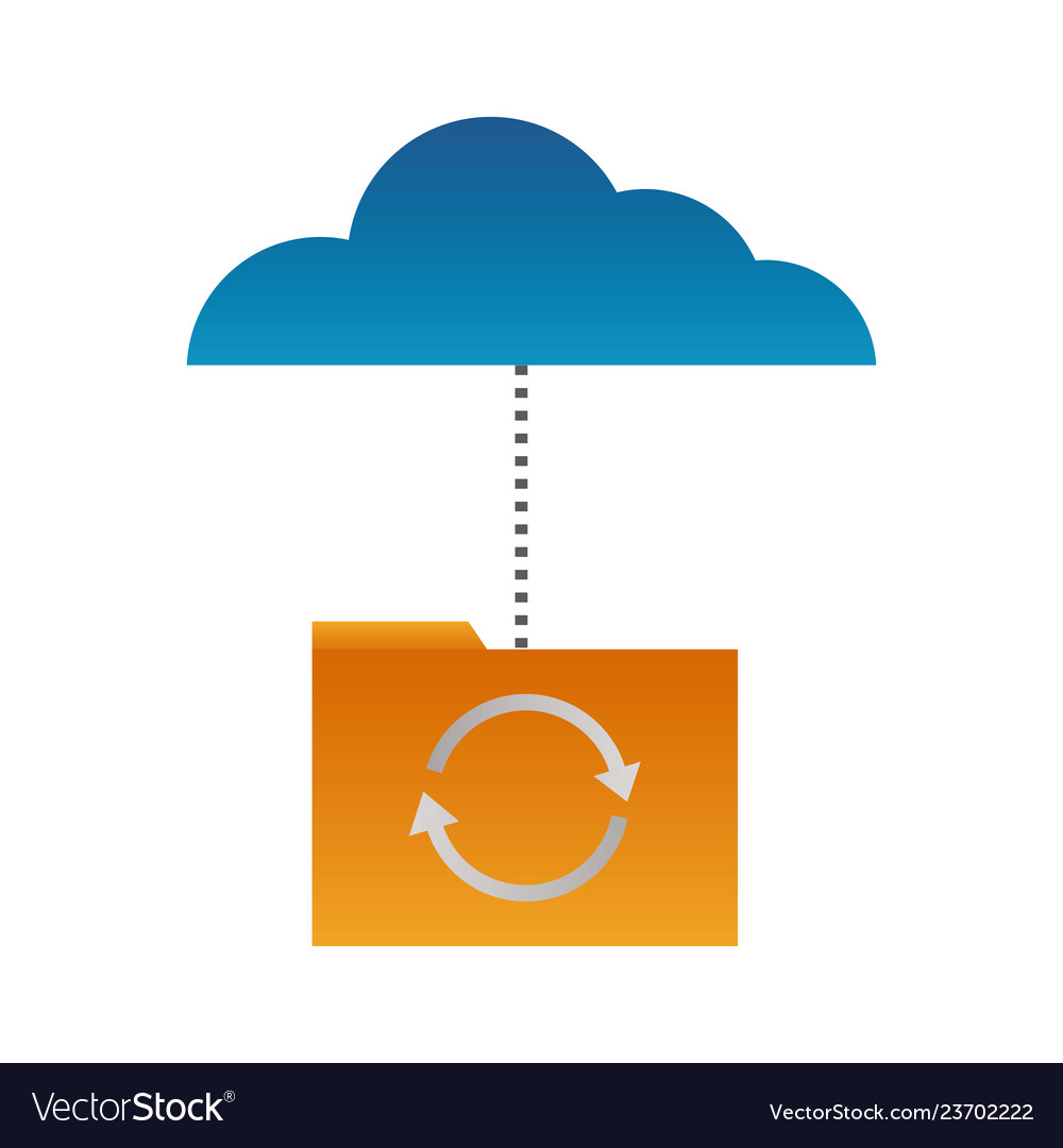 Cloud computing folder