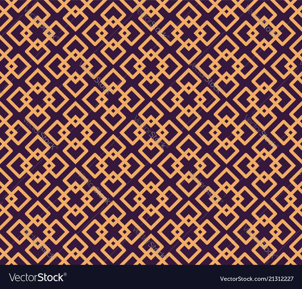 Luxury geometric pattern seamless pattern