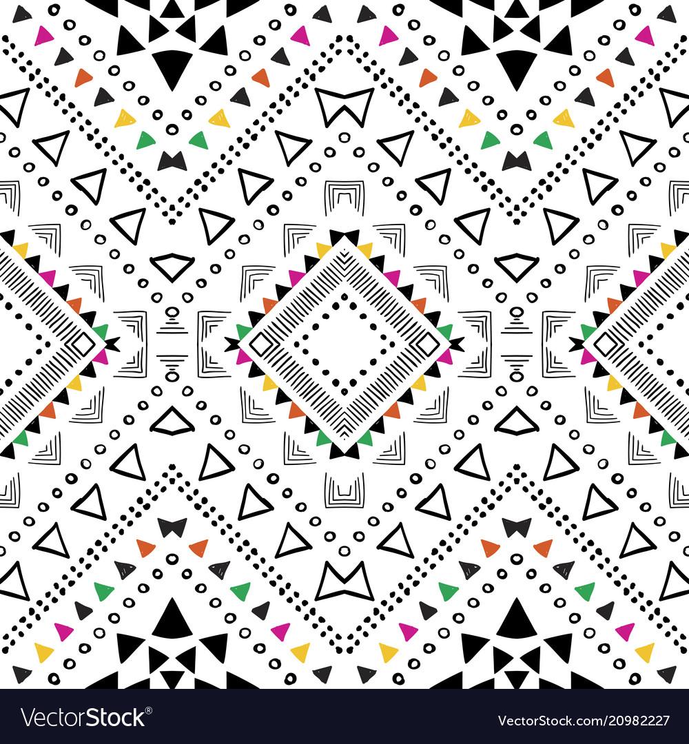 Tribal geometric design