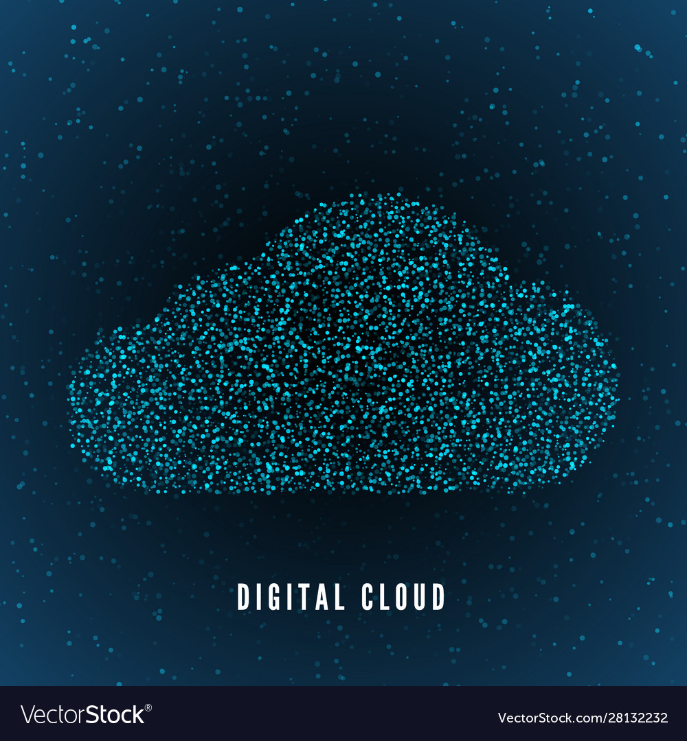 Digital cloud global structure data storage
