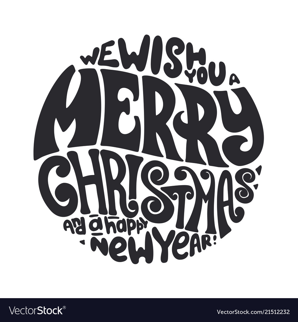 We wish you a merry christmas and happy new year