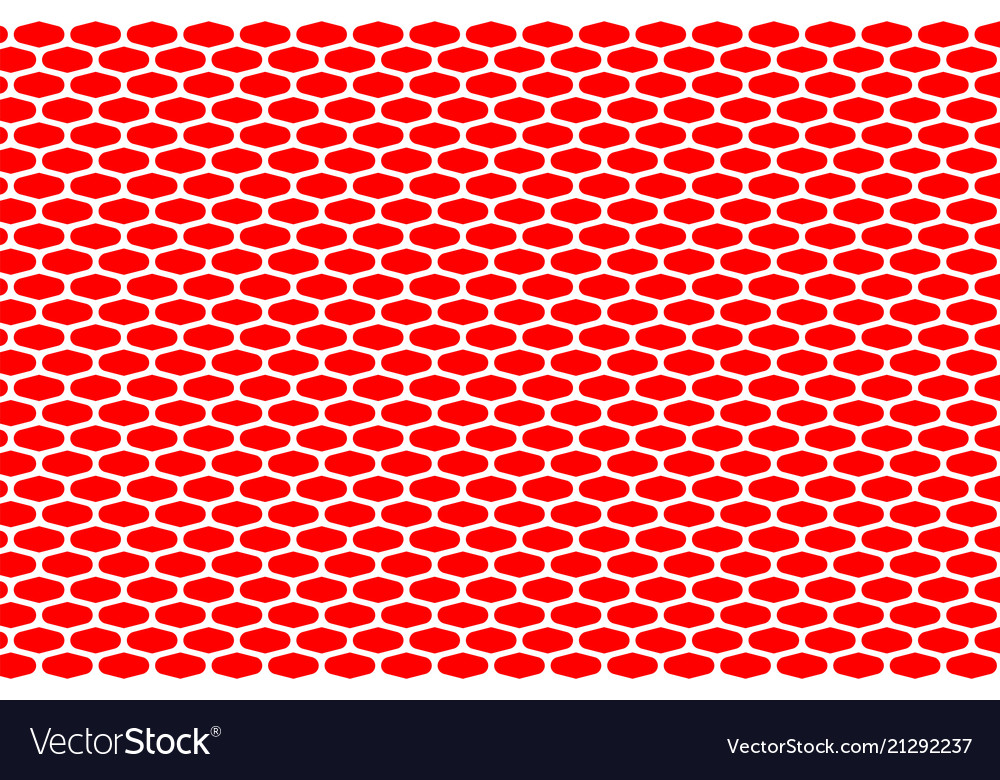 Abstract pattern white net on red