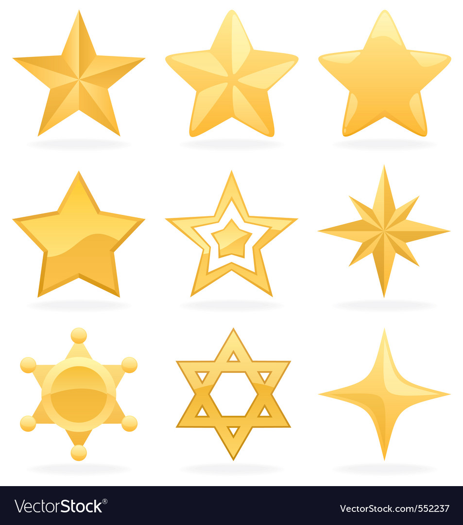 Star icons
