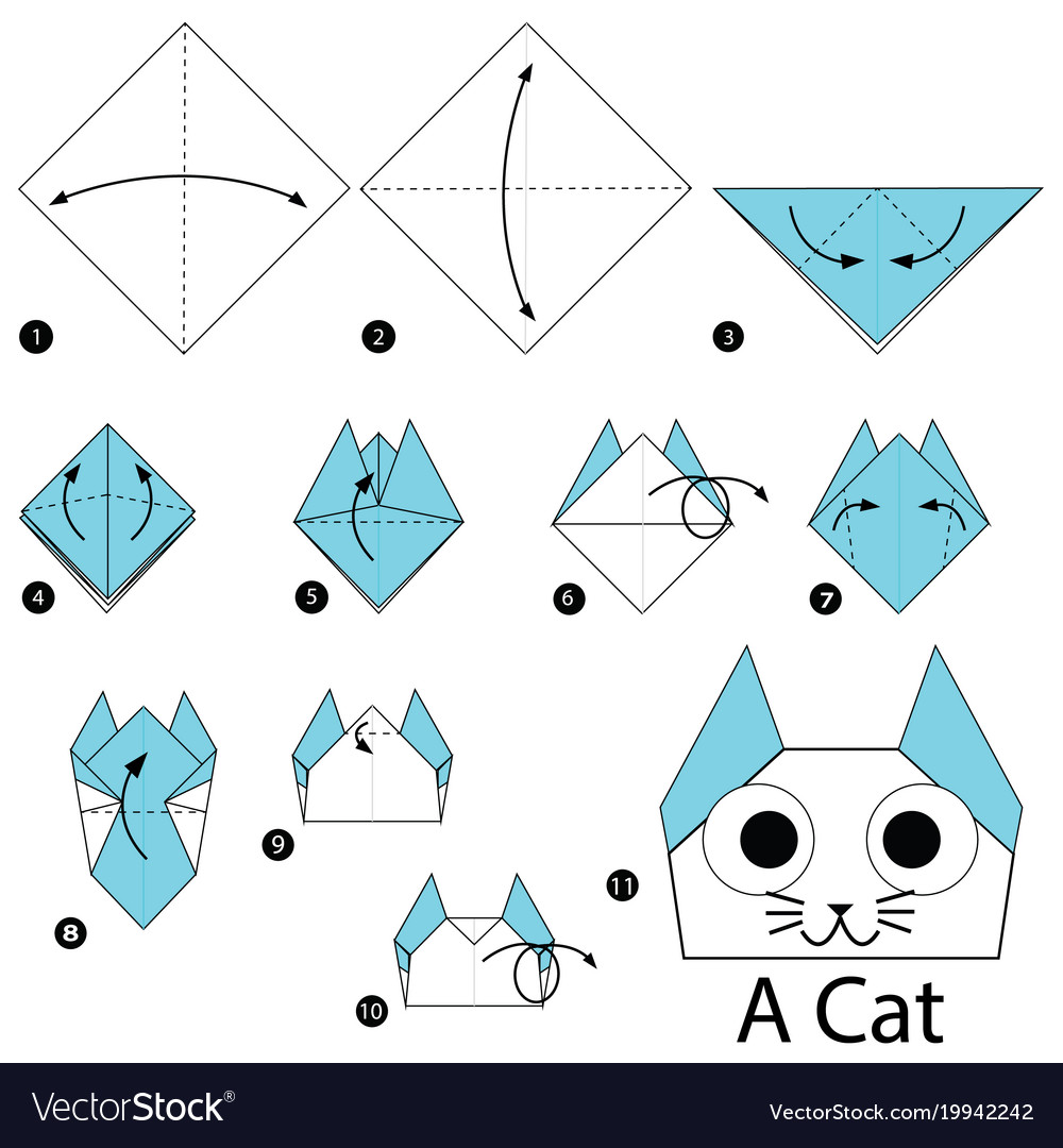 step by step origami - HD1000×1080