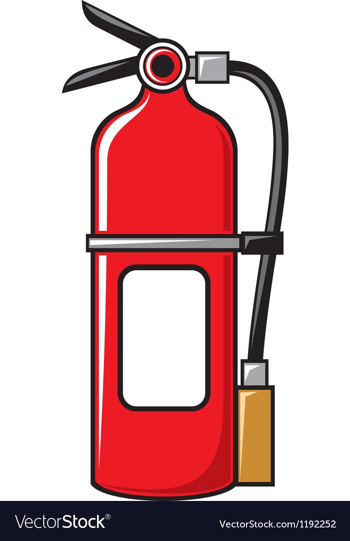 fire extinguisher royalty free vector image vectorstock