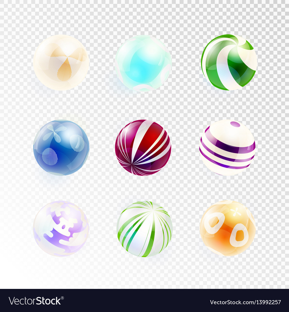 Set of abstract spheres