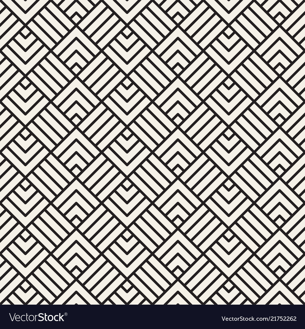Abstract geometric pattern with stripes seamless