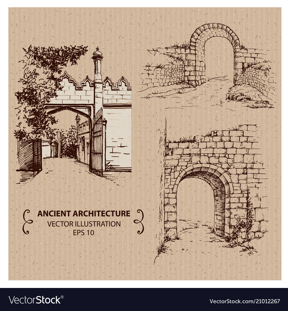 Aincient arches and gates