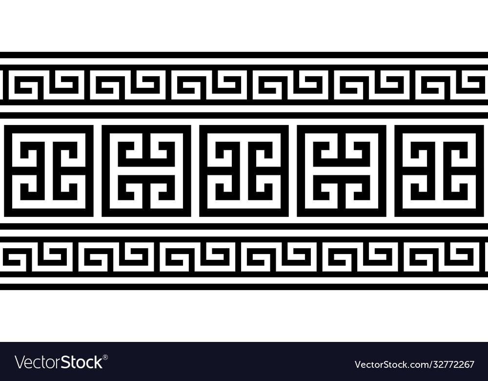 Greek key pattern seamless design - inspire