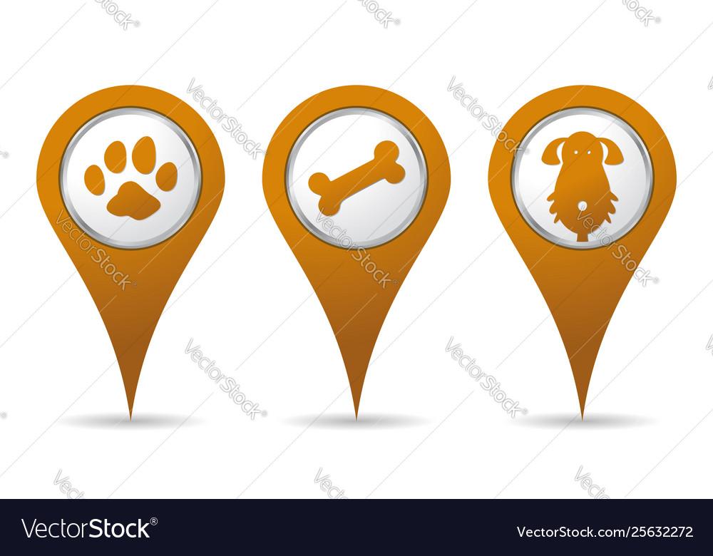 Location pet icon
