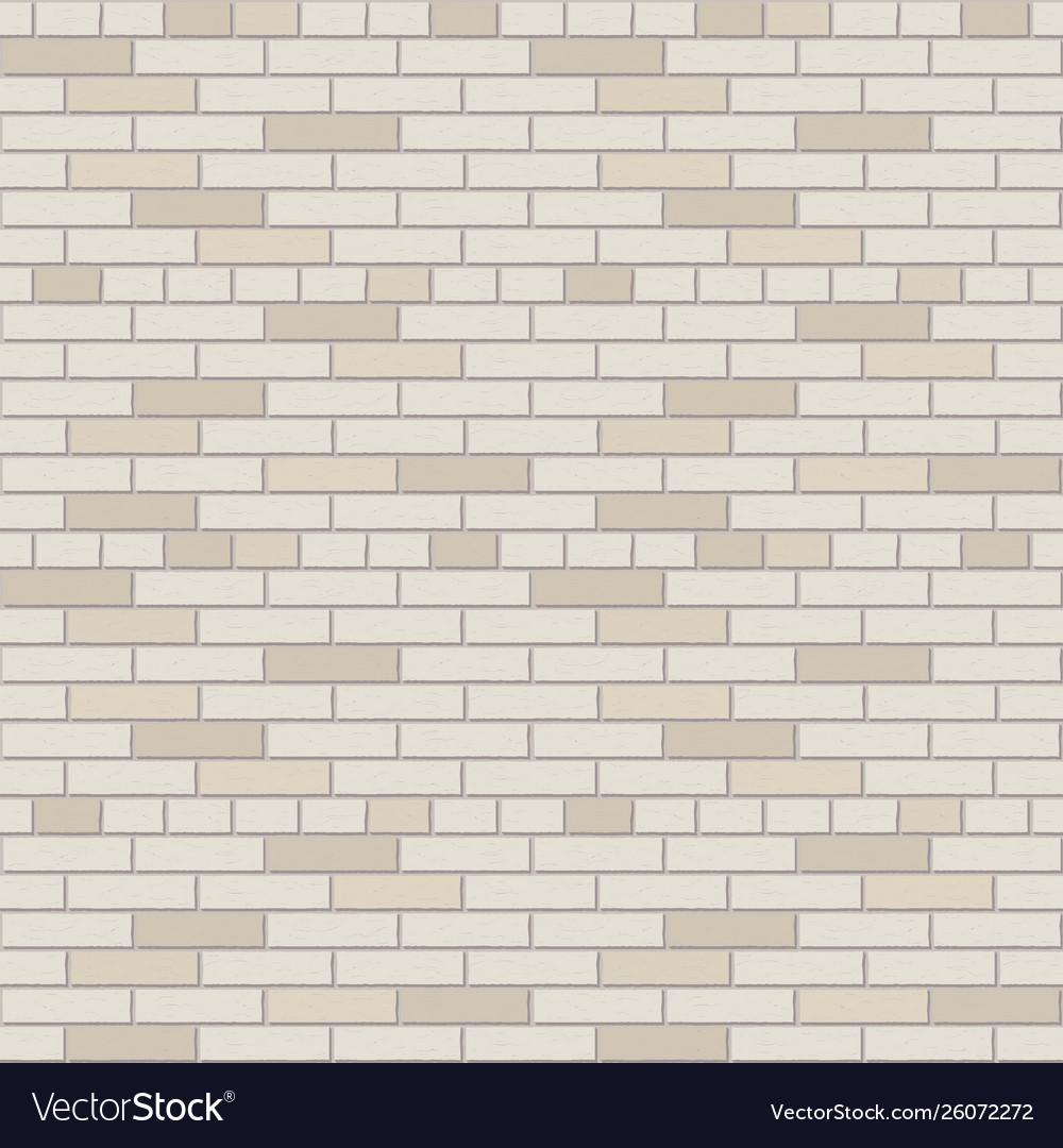 White and gray brick wall pattern interior