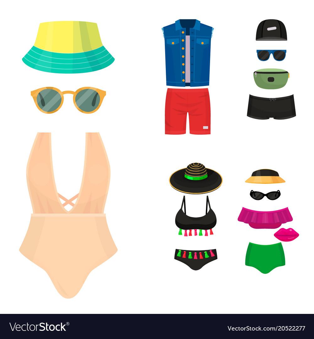 Beachwear bikini cloth fashion looks vacation