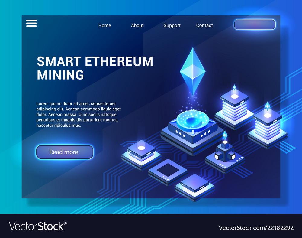 Smart ethereum mining