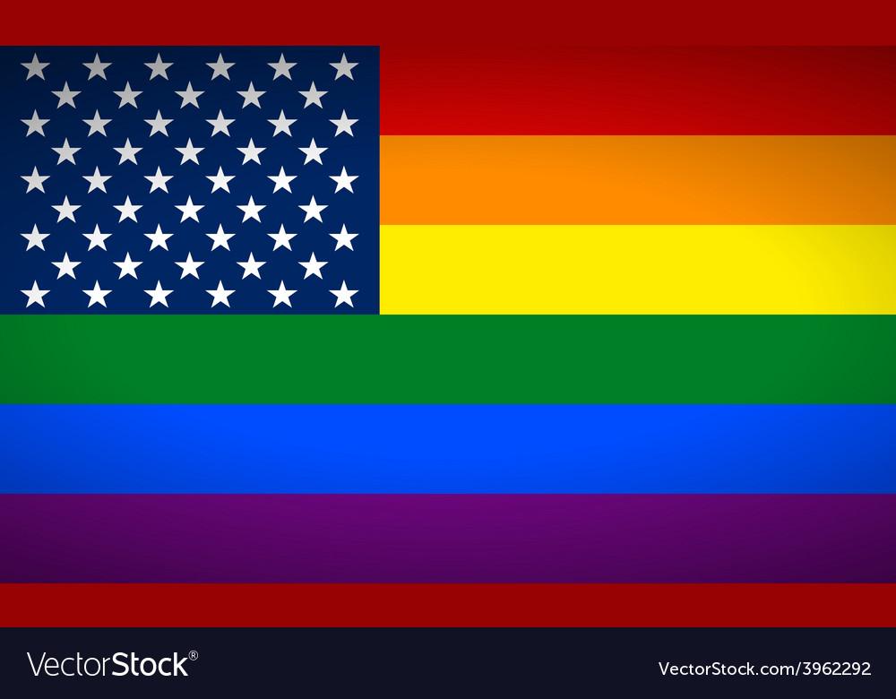 United States Gay flag