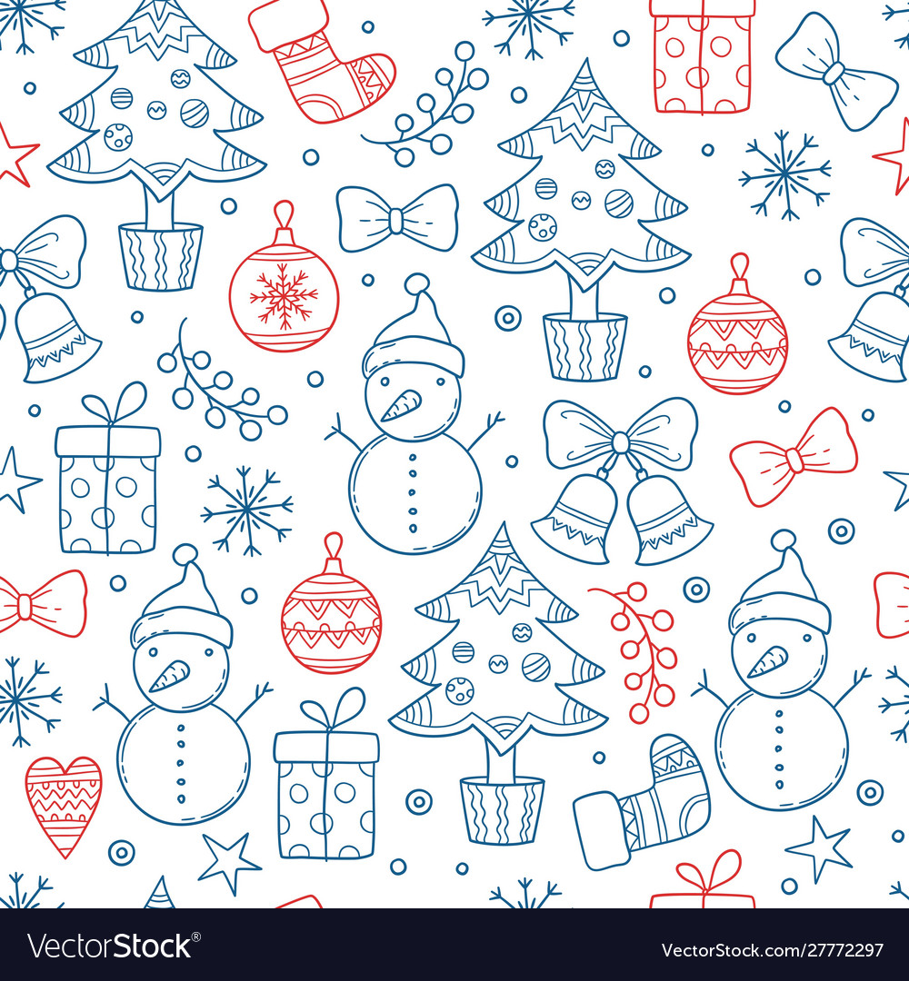 Christmas pattern winter season graphic