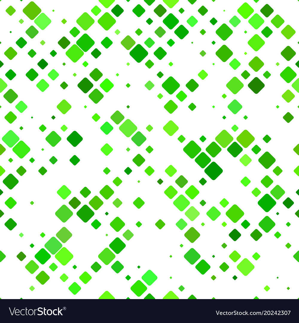 Color diagonal rounded square pattern background vector image