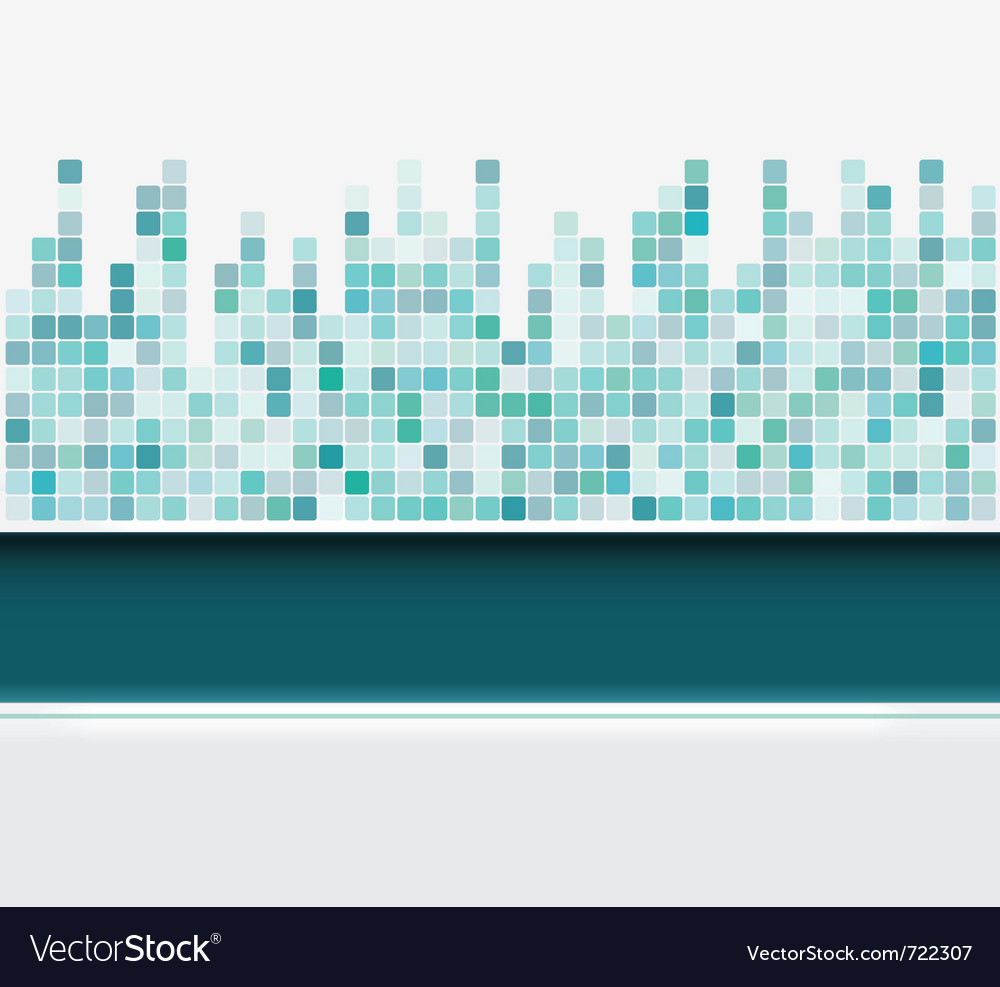 Mosaic square background