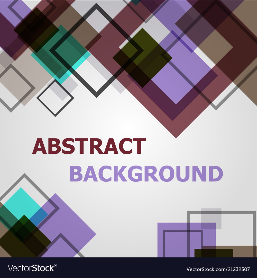 Square geometric pattern design background