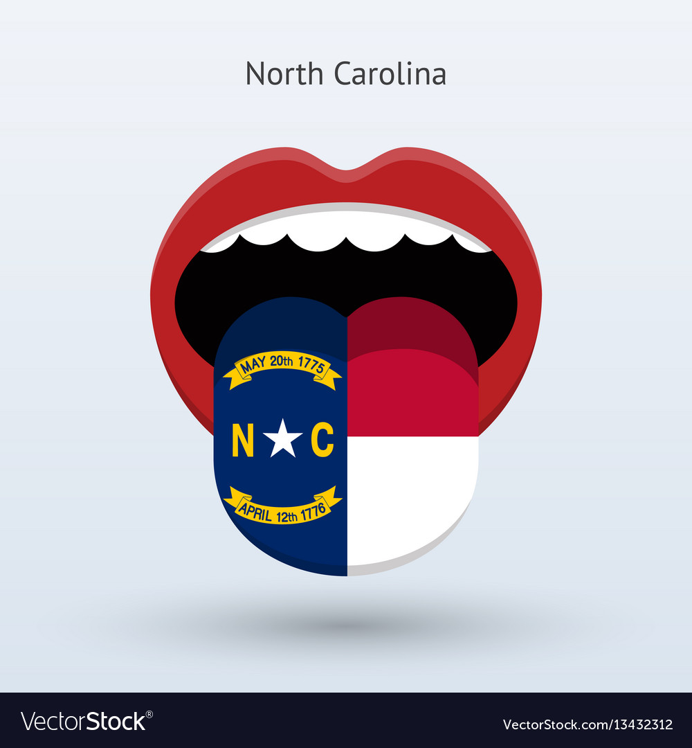 Electoral vote of north carolina abstract mouth