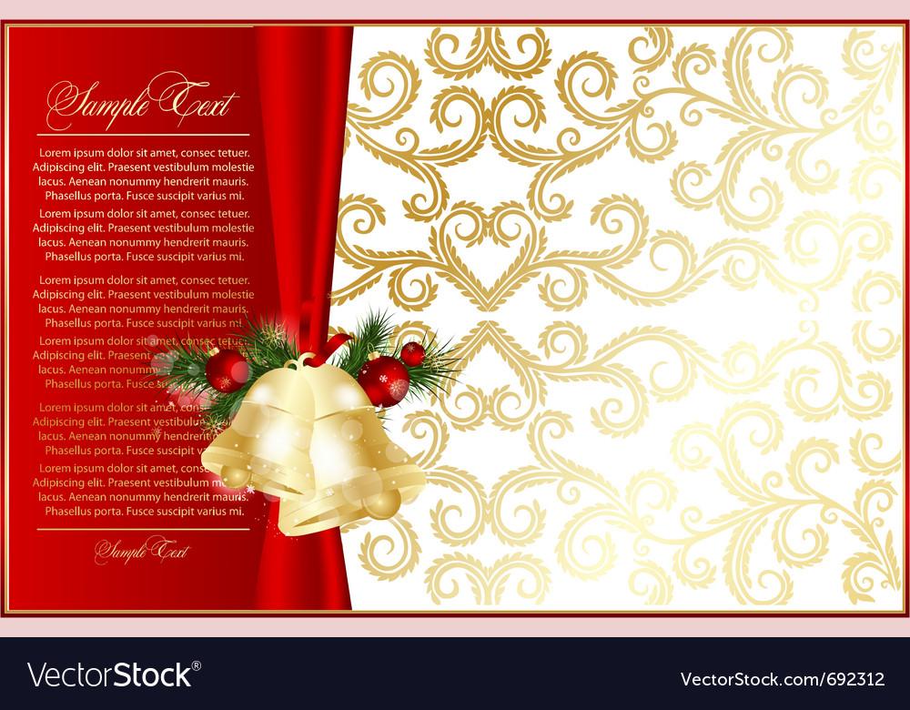 Elegant xmas background
