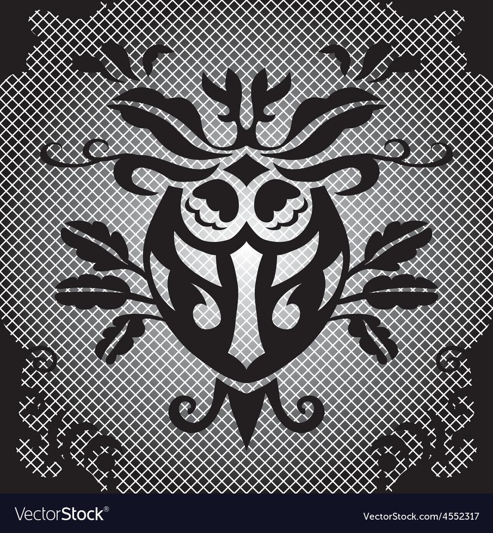 Beautiful seamless damask pattern