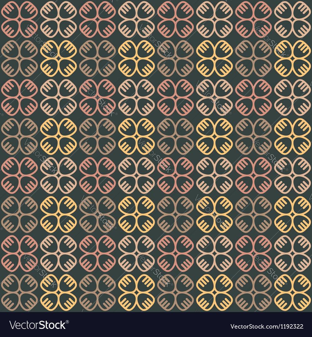 Ethnic seamless pattern with symbols