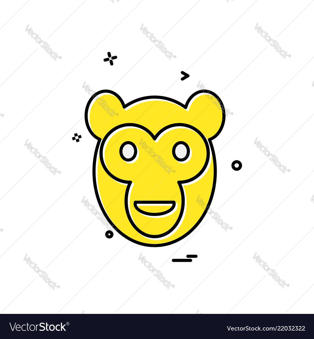 Monkey icon design