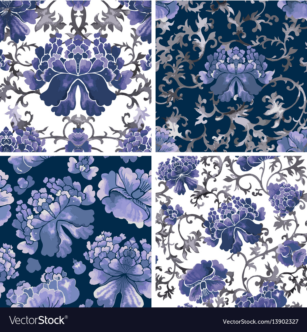 Floral seamless background flower pattern