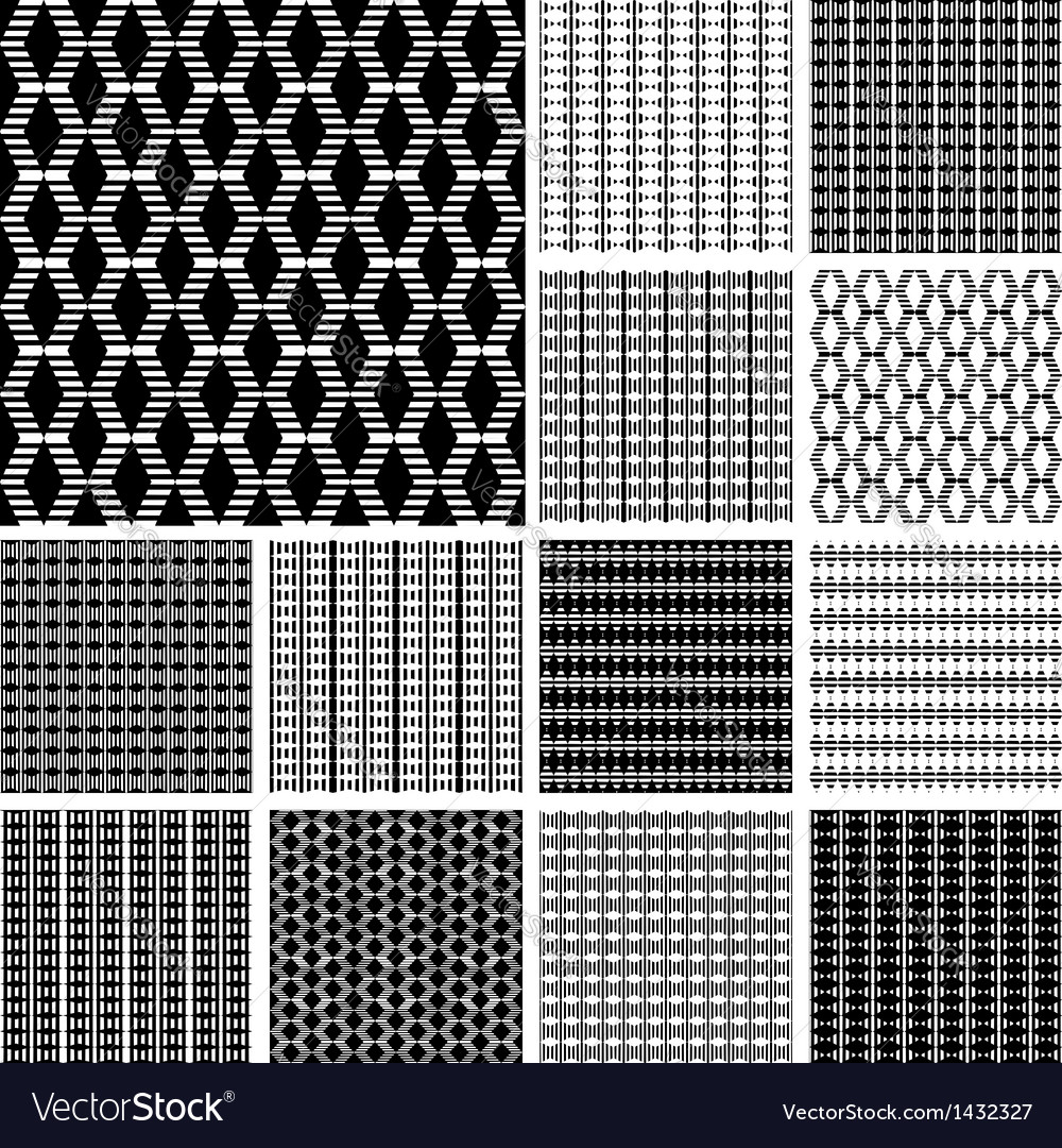 Striped textures set