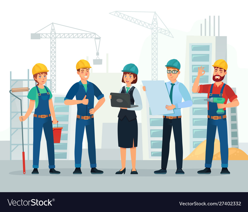 Construction team engineering and constructions