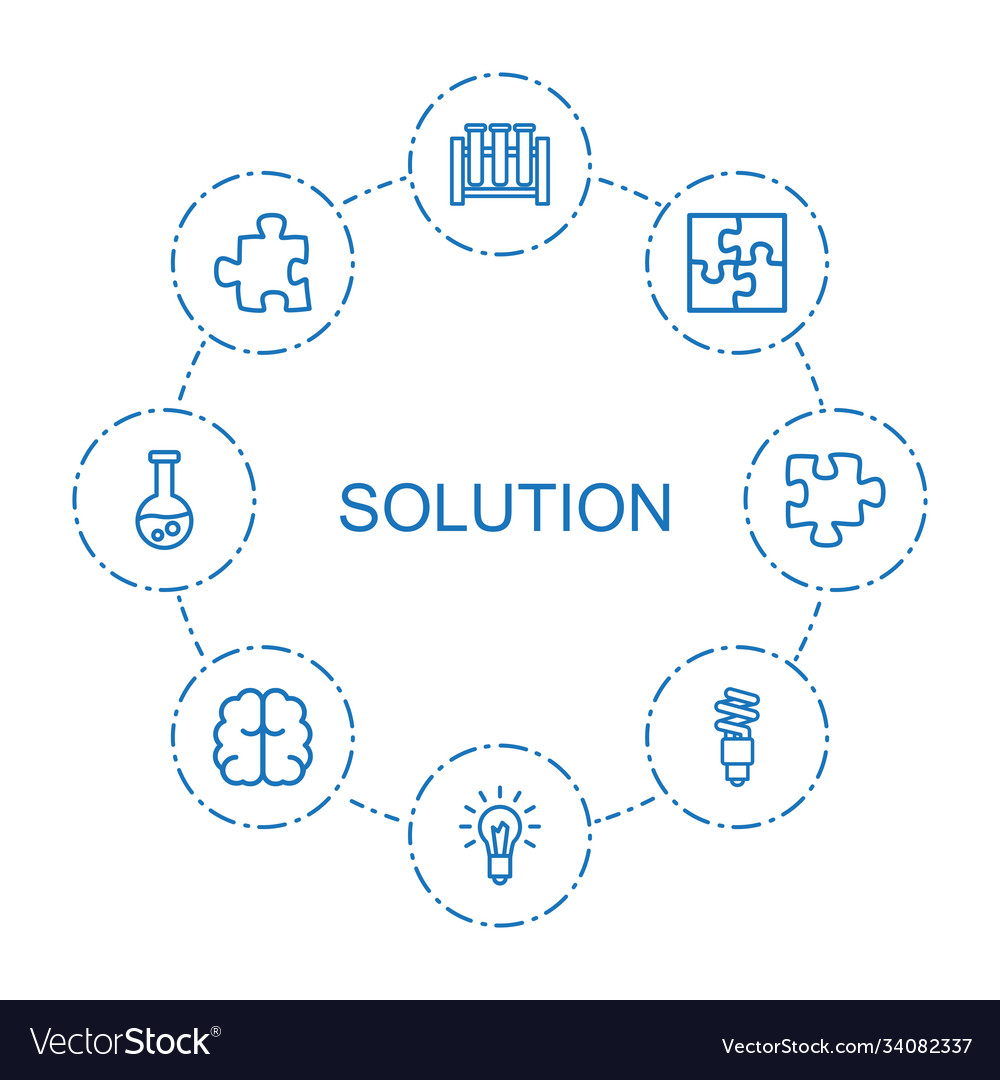 8 solution icons