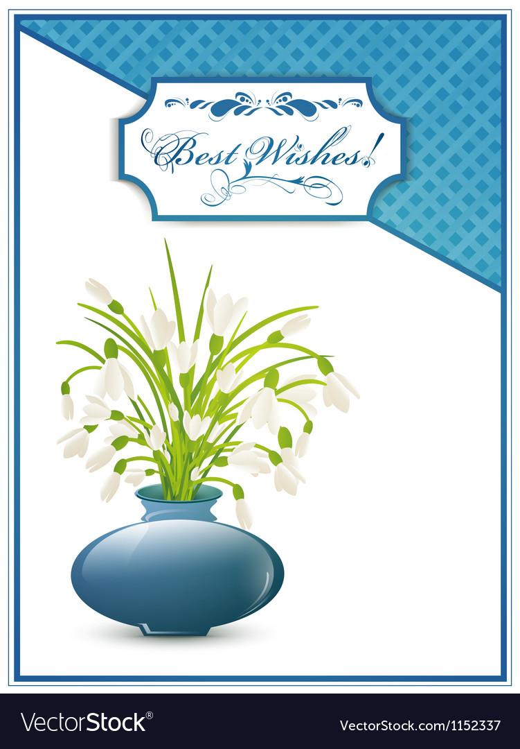Best Wishes Postcard