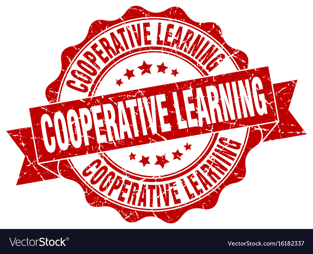 Cooperative learning stamp sign seal