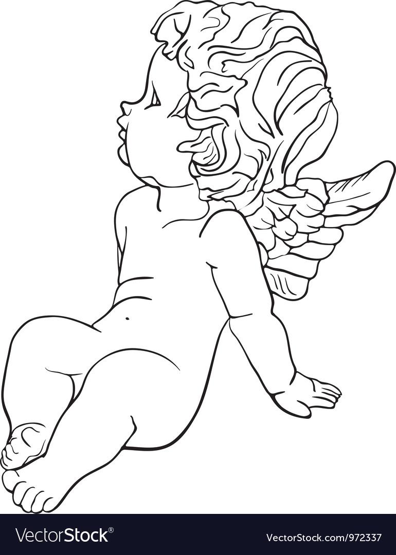 Tired little angel