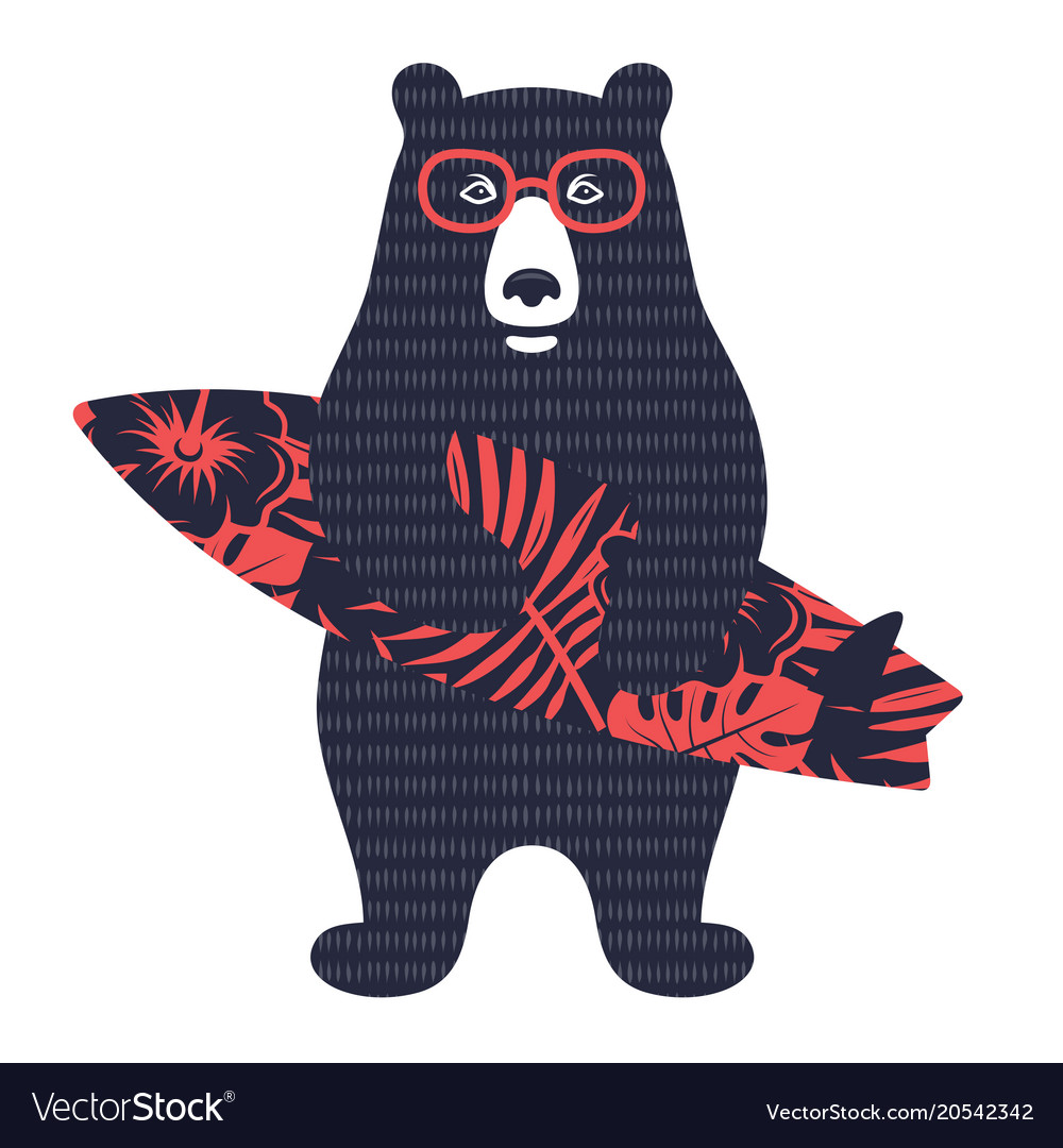 Bear surfer 003