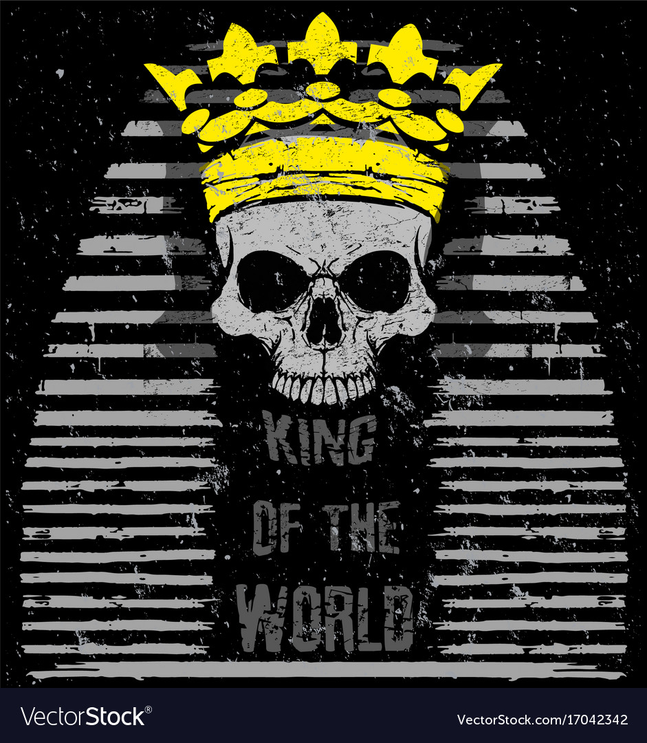 Egyptian skull t shirt graphic design