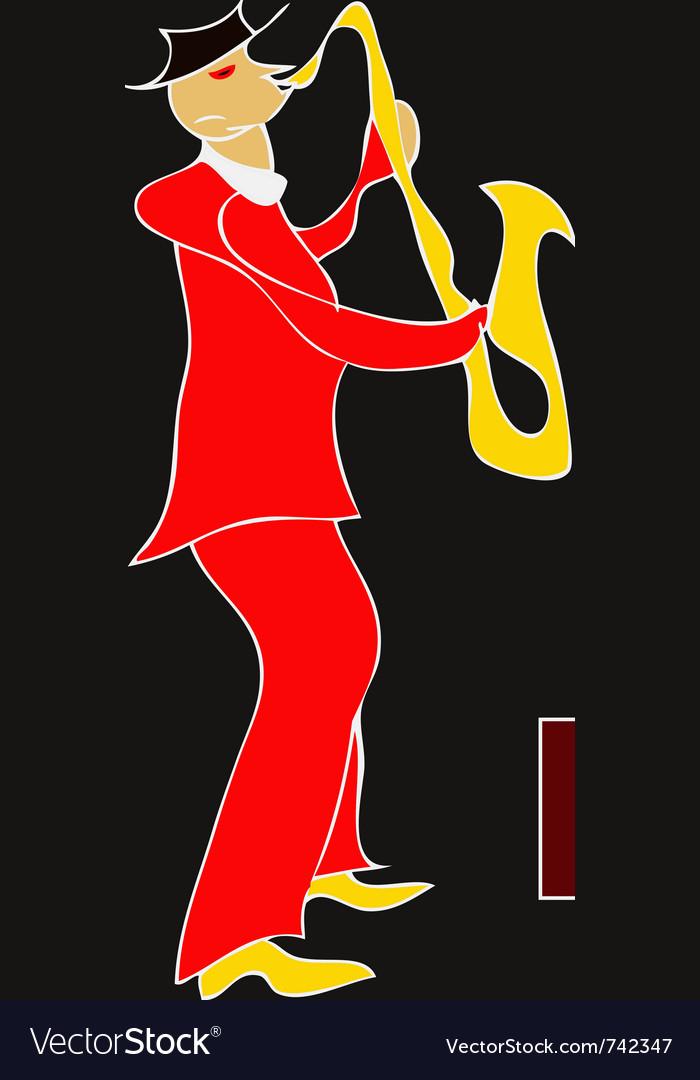 Brass dance vector image
