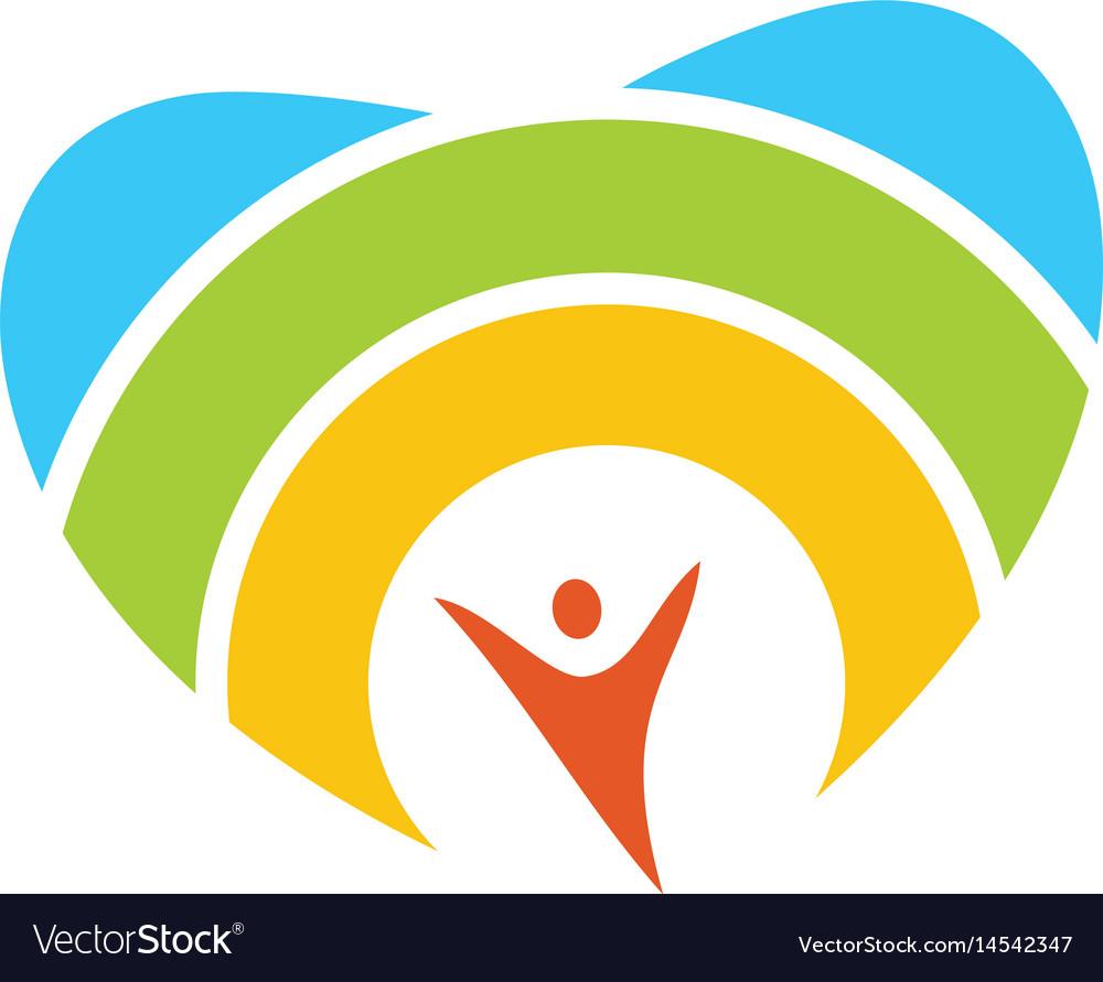 Heart icon logo