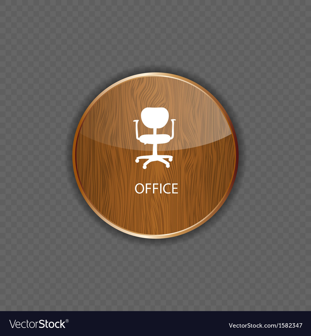 Office wood application icons